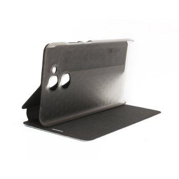 Ocube Flip Folio Stand Up Holder Pu Leather Case Cover for Vernee M5 Cellphone - BLACK