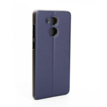 Ocube Flip Folio Stand Up Holder Pu Leather Case Cover for Vernee M5 Cellphone - BLUE