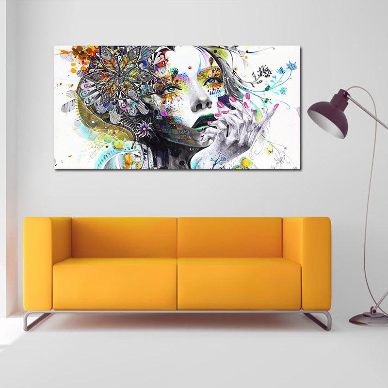 Modern Abstract Frameless Canvas Print for Home Decoration