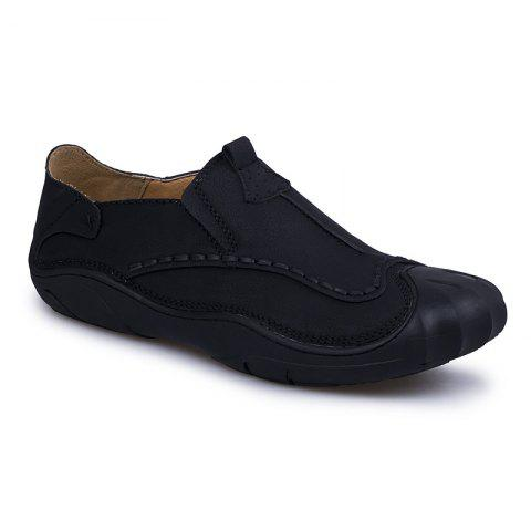 Sewing Shoes Outdoor Pure Manual - BLACK 43