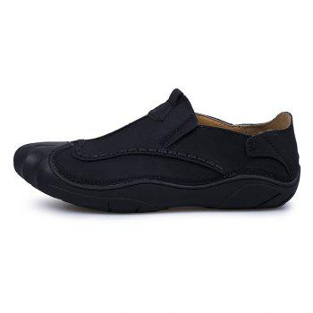 Sewing Shoes Outdoor Pure Manual - BLACK 41