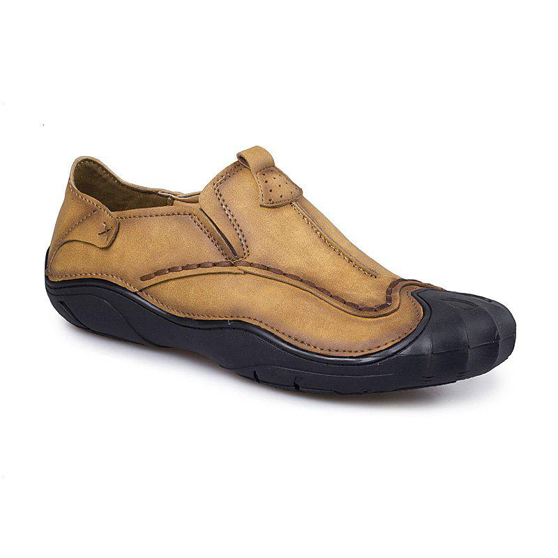 Sewing Shoes Outdoor Pure Manual - YELLOW 38