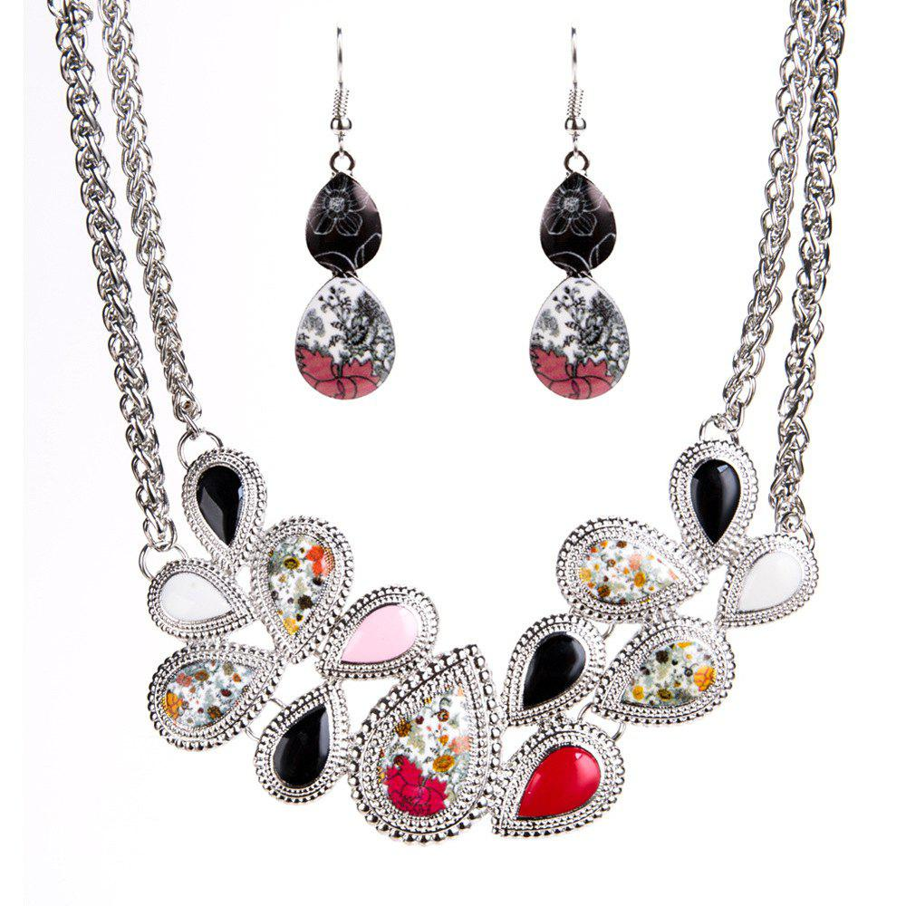 New Love Alloy Drop - Oil Necklace Set new