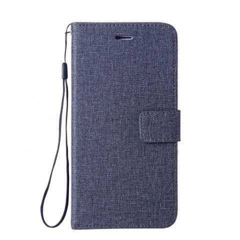 Cotton Pattern Leather Case for Samsung Galaxy J7 MAX - BLACK