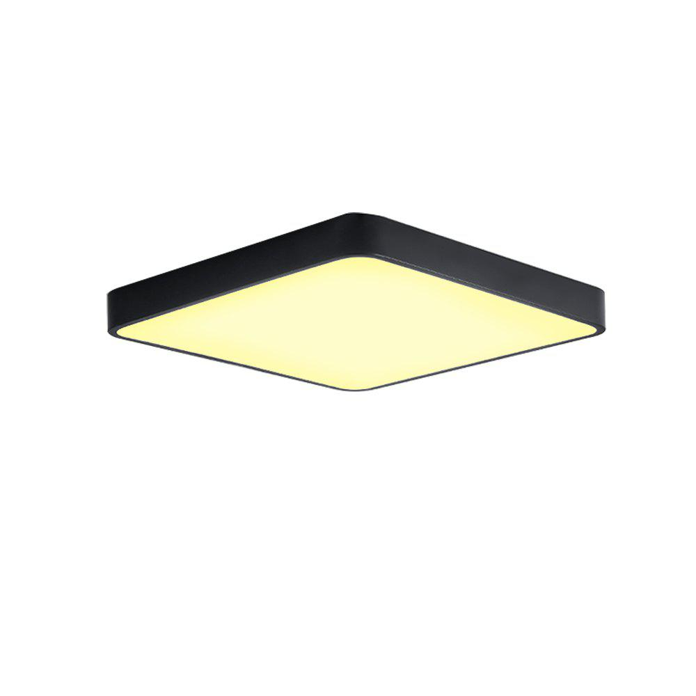 JX231H - 48W - WW Warm White Ceiling Light AC 220V  - BLACK