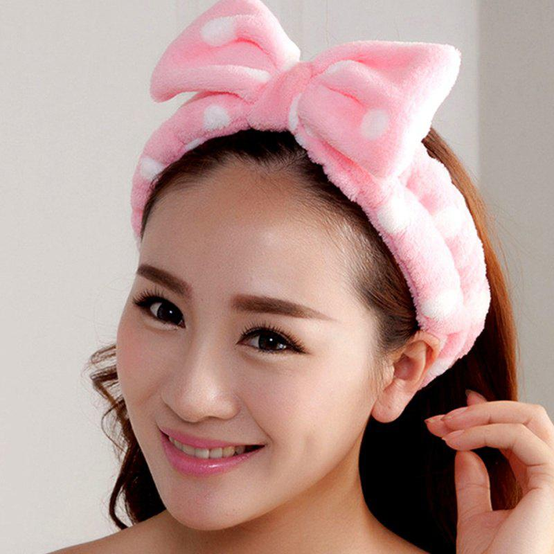 Washing Face Hairband Cute Lady Shower Hairband - AS THE PICTURE