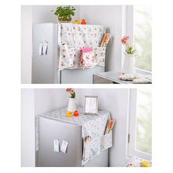Dust Guard Hanging Bag for Icebox Storage - WHITE