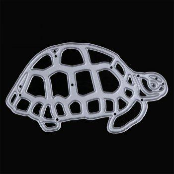 Tortoise Metal Cutting Dies Template Embossing Folder Stencil DIY Scrapbook -  SILVER