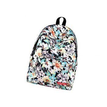 RUNNINGTIGER Women Canvas Backpack School Bags For