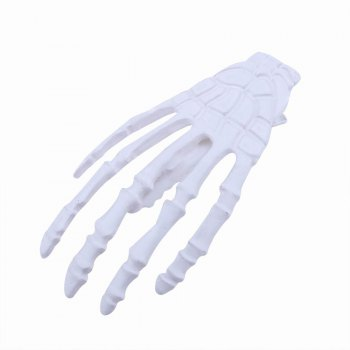 Japanese Stylish Cool Hair Accessory Skeleton Hairpin - WHITE