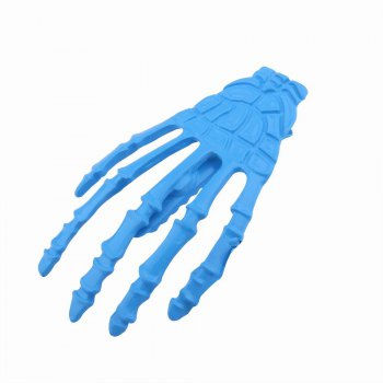 Japanese Stylish Cool Hair Accessory Skeleton Hairpin - BLUE