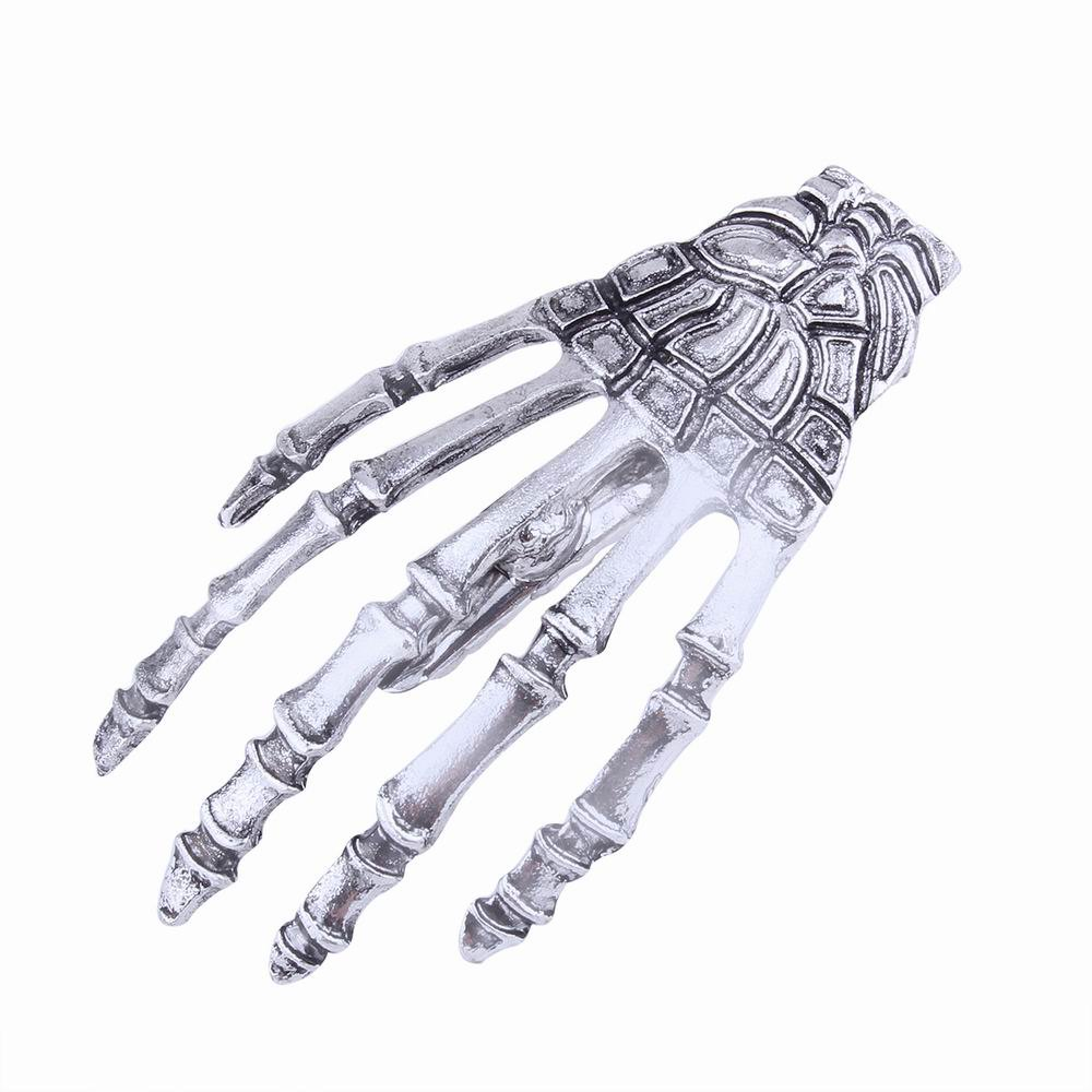 Japanese Stylish Cool Hair Accessory Skeleton Hairpin - ANTIQUE SILVER