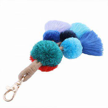 The Bulb Tassel Key Chain - COLORFUL