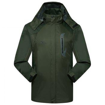 2017 Men Causal Sports Water Proof Softshell - ARMYGREEN ARMYGREEN