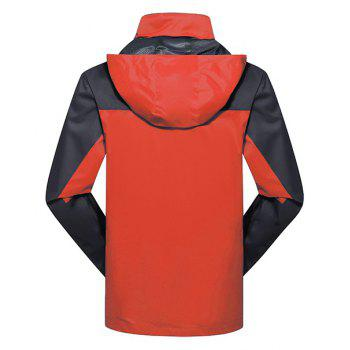 2017 Men Causal Sports Water Proof Softshell - JACINTH 4XL