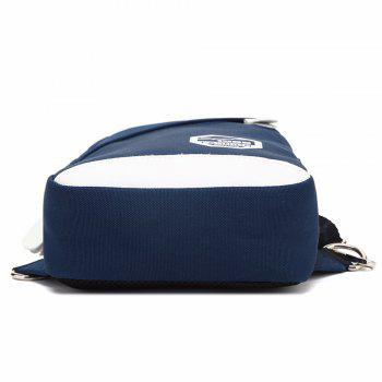 AUGUR Men Crossbody Bag Oxford Shoulder Waterproof Small Male Messenger Casual Travel Chest Bag -  BLUE