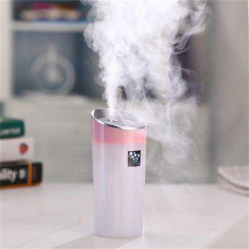 Small O Mini USB Car Humidifier Aromatherapy Negative Ion Air Purifying Mute -  PINK