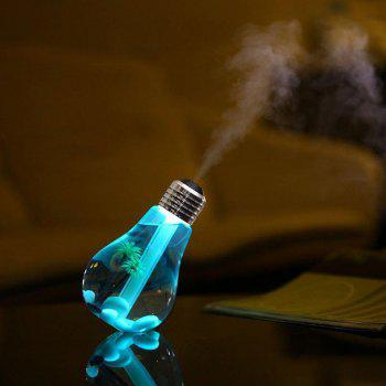 Light Bulb Humidifier Air Purification Silent Seven Color Conversion Mute - TRANSPARENT