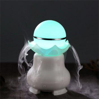 Mini USB Night Pearl Humidifier Office Bedroom Quiet Luminous - WHITE