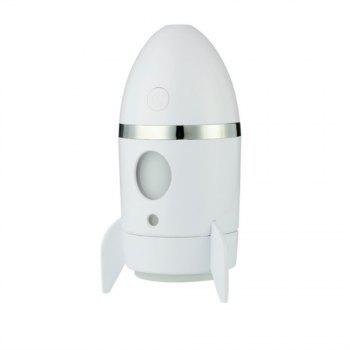Mini USB Rocket Humidifier Office Car Bedroom Seven Colour Change Mute
