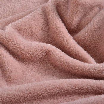 Pink Handmade Cotton Hemp Wrap with Delicate Double-Sided Soft Blanket - PINK 200CM X 230CM