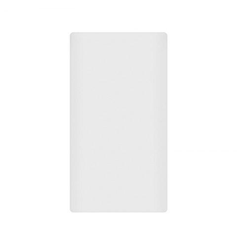 Silicone Gel Rubber Case For 10000mAh Xiaomi Cover Power Bank 2 Cover - WHITE