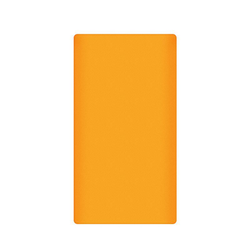 Silicone Gel Rubber Case For 10000mAh Xiaomi Cover Power Bank 2 Cover - ORANGE