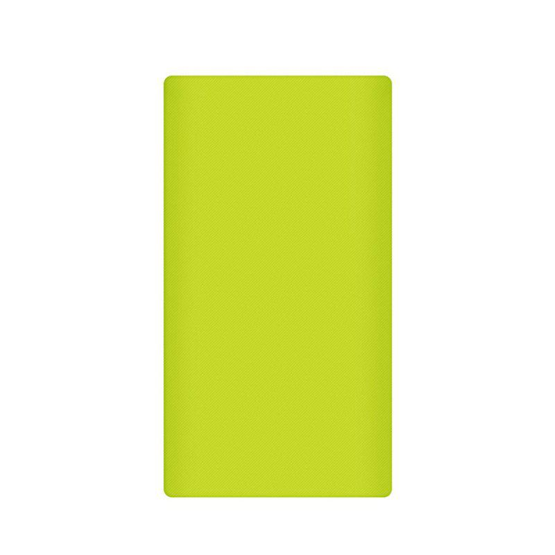 Silicone Gel Rubber Case For 10000mAh Xiaomi Cover Power Bank 2 Cover - GREEN