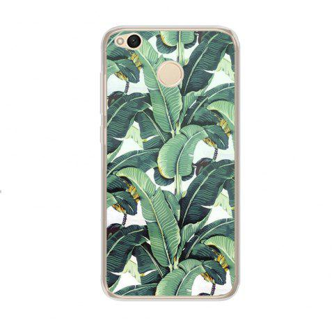 Color Pattern Soft TPU Back Phone Case for Xiaomi Redmi 4X - GREEN