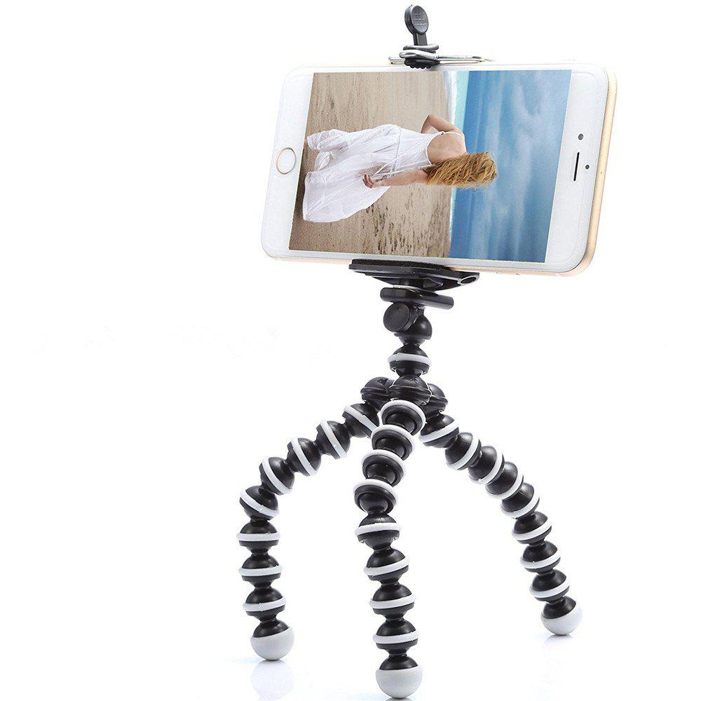 Small Light Universal Tripod Mount Phone Holder for Smart Phones universal cell phone holder mount bracket adapter clip for camera tripod telescope adapter model c