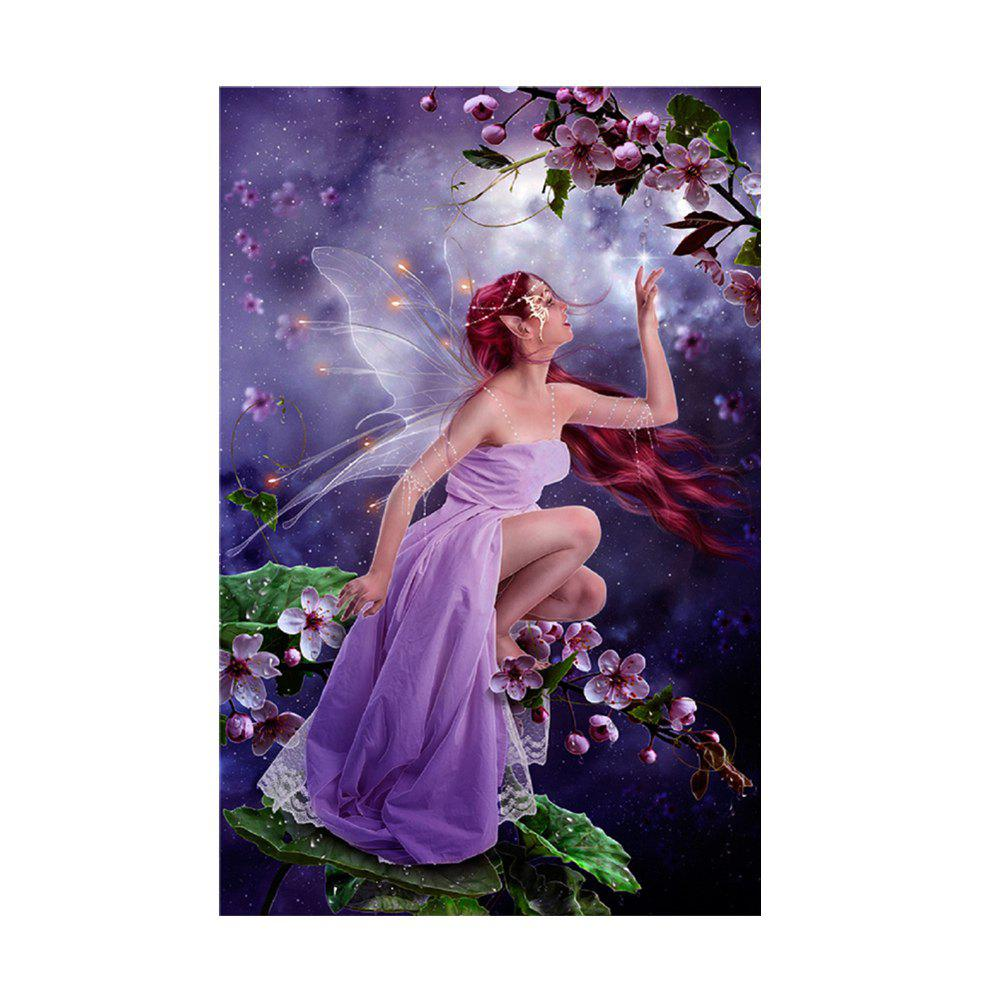Character Butterfly Fairy Prints Diamond Paintings colored deer prints diamond paintings