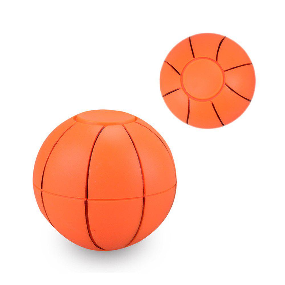 Football basketball fingers spinning toys at the fingertips - ORANGE
