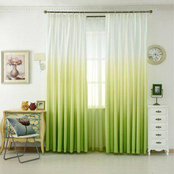 Gradual Curtain Translucent Multicolor Window