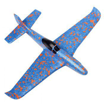 Hand Throwing Foam Plane EPP outdoor Model sports flying toy - BLUE