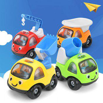 Mini Pull Back  Cartoon Cars  High Quality Funny Pull Back Sand Tools Truck Kids Vehicles Children Racing Car Mod - COLORMIX COLORMIX