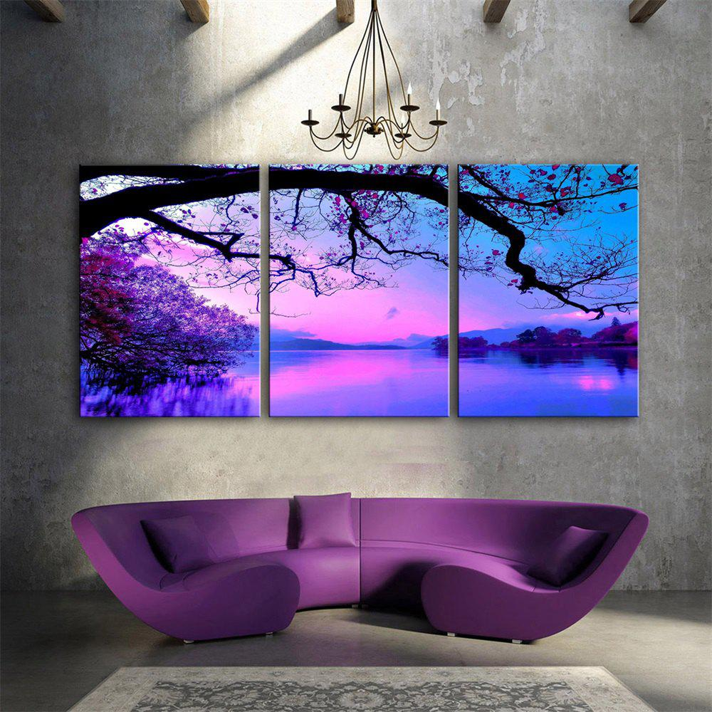 Special Design Frameless Paintings Dream Print 3PCS