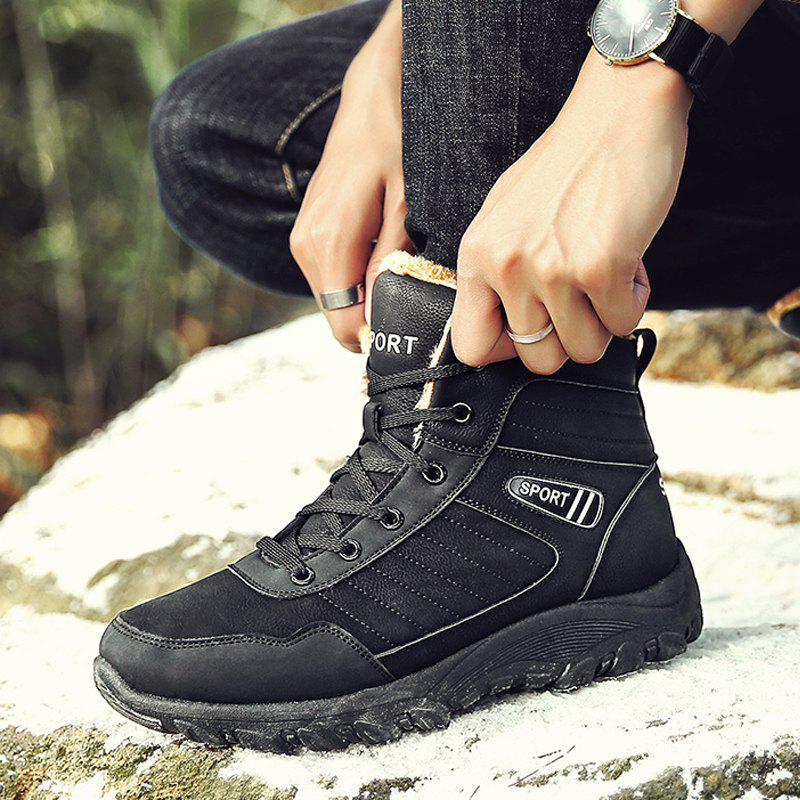 Men Warm Outdoor Warm Shoes Sport Hiking Anti-Skid Tourism Sneakers от Dresslily.com INT
