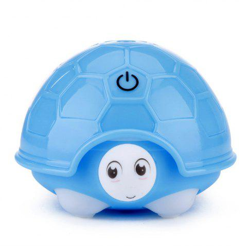 Mini USB Turtle Humidifier Office Car Bedroom Mute - BLUE