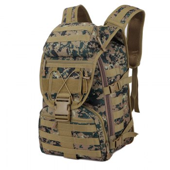 FLAMEHORSE 3P Tactical Camouflage Bag Attack Mountaineer Versatile Backpack - JUNGLE CAMOUFLAGE