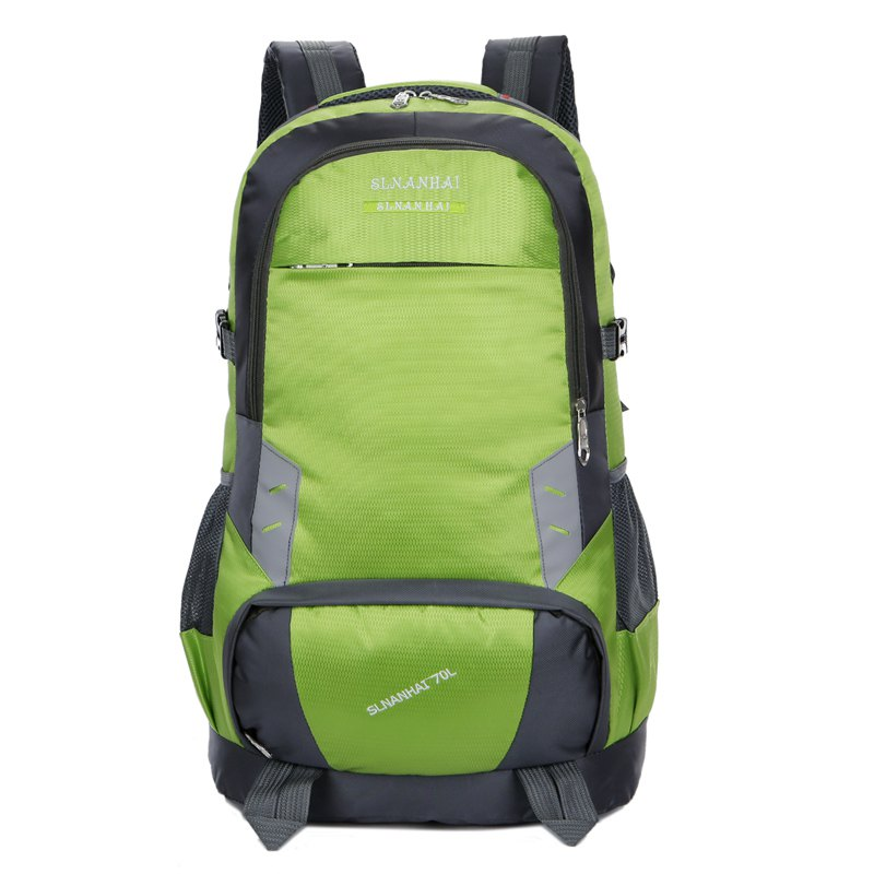 55L Largecapacity Outdoor Mountaineer Bag Hiking backpacks - GREEN