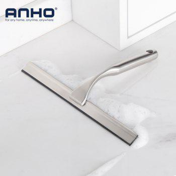 High Quality Stainless Steel Shower Cleaning Squeegee Window Glass Cleaner with a hook - SILVER