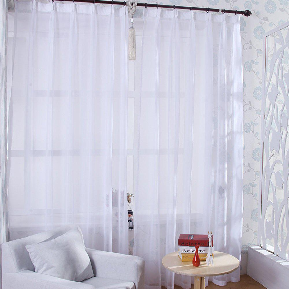 Fashion Comfortable Curtain Screen, White