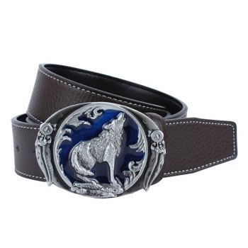Wolf Belt Leather - COFFEE COFFEE