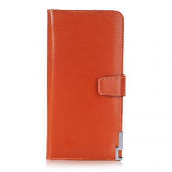 purse Pure Passport Cover Large Fresh Capacity Business Card Holder Natural Wallets for Female Useful Long-Lived Purse - ORANGE ORANGE