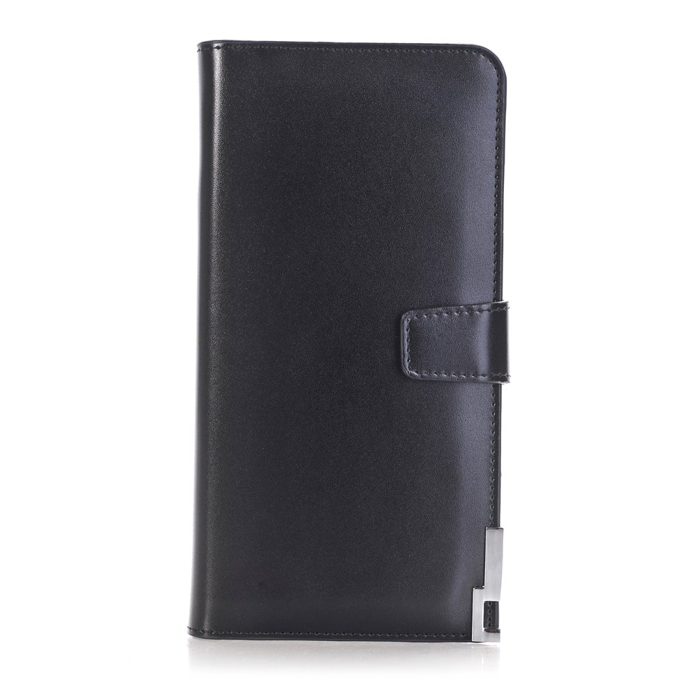 purse Pure Passport Cover Large Fresh Capacity Business Card Holder Natural Wallets for Female Useful Long-Lived Purse - BLACK