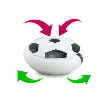 Electric Light Suspended Air Cushion Football Indoor Air Football Euro Selling Toys - WHITE