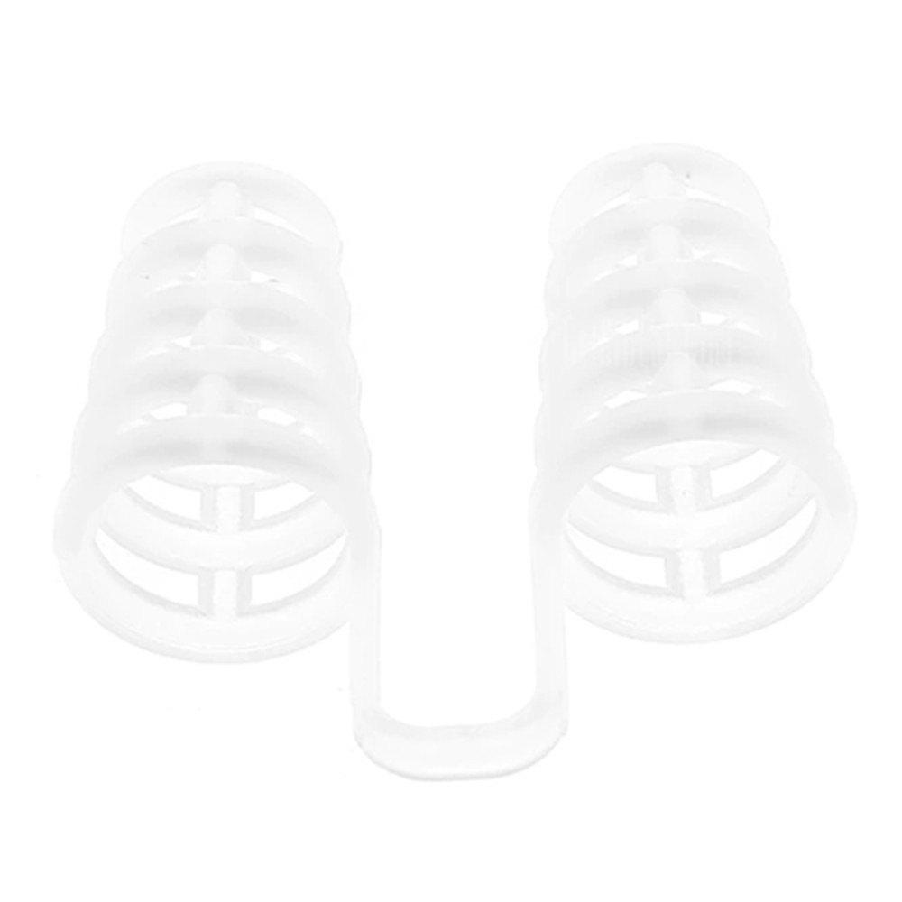 Snore Stopper Silicone Nose Clip Sleeping Device - TRANSPARENT