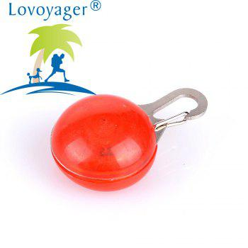 Lovoyager LVC1127 LED Light Dog Pendant - RED ONE SIZE