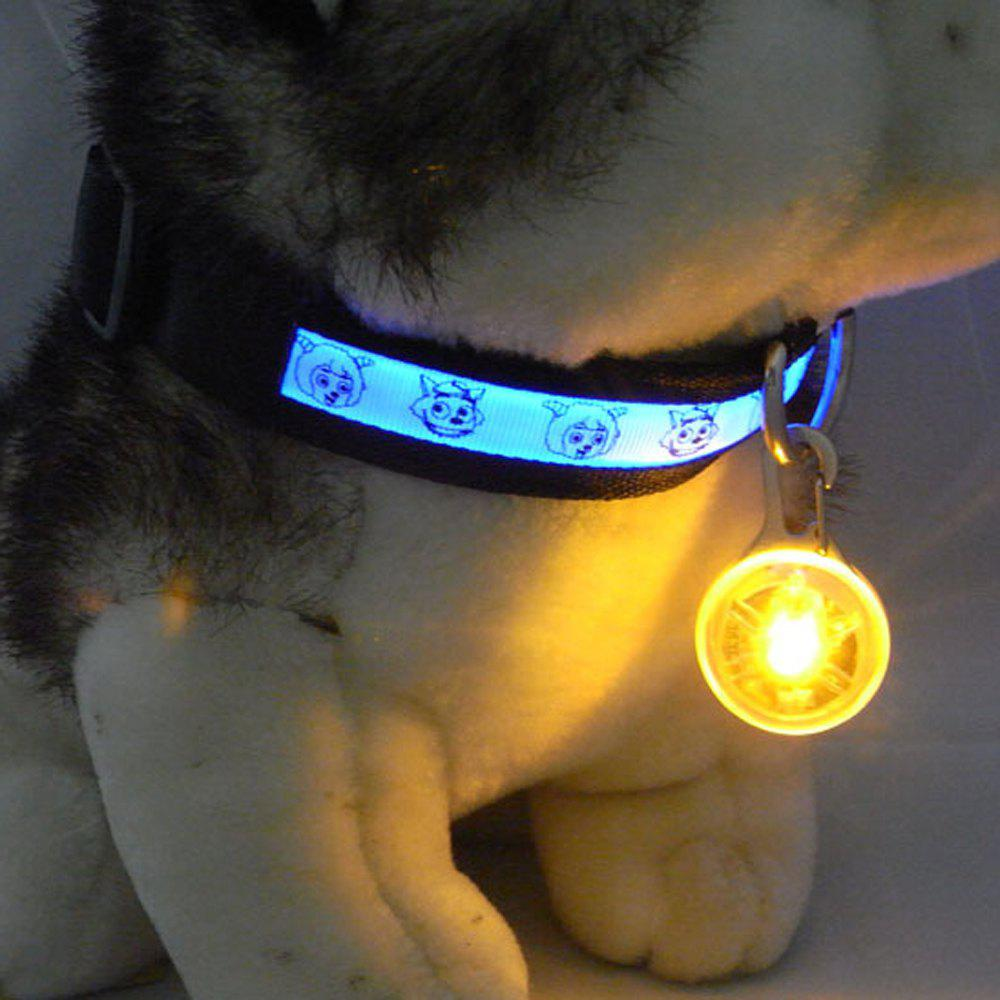 Lovoyager LVC1127 LED Light Dog Pendant - YELLOW ONE SIZE