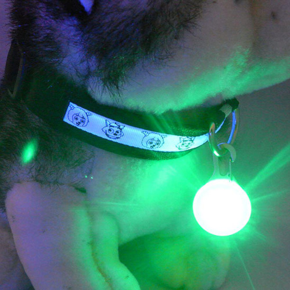 Lovoyager LVC1127 LED Light Dog Pendant - GREEN ONE SIZE